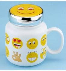 """Термокружка с крышкой """"Smile Family"""" купить в интернет магазине подарков ПраздникШоп"""