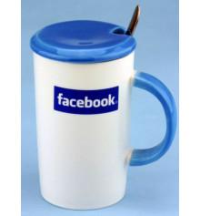 """Чашка """"Facebook"""" купить в интернет магазине подарков ПраздникШоп"""