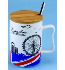 """Чашка """"LONDON SKY"""" купить в интернет магазине подарков ПраздникШоп"""