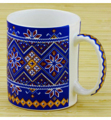 """Чашка """"Вышиванка"""", 4 цвета купить в интернет магазине подарков ПраздникШоп"""