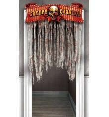 """Украшение на дверь """"Карнавал Halloween"""" купить в интернет магазине подарков ПраздникШоп"""