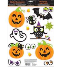 Наклейки забавный Halloween купить в интернет магазине подарков ПраздникШоп