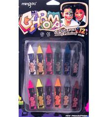Грим (12 цветов) купить в интернет магазине подарков ПраздникШоп