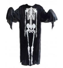 Накидка скелета 180 см купить в интернет магазине подарков ПраздникШоп