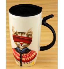 """Кружка с поилкой """"MR CAT"""", 3 вида купить в интернет магазине подарков ПраздникШоп"""