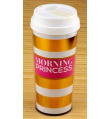 """Термокружка """"Morning Princess / Strong coffee"""" купить в интернет магазине подарков ПраздникШоп"""