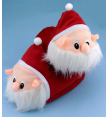 "Тапочки ""Дед Мороз"" купить в интернет магазине подарков ПраздникШоп"