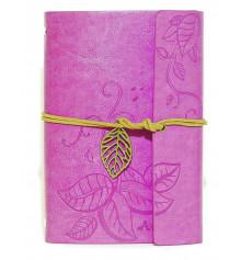 Блокнот 'Nature' La Femme Edition фиолетовый купить в интернет магазине подарков ПраздникШоп