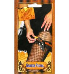 Кобура с подвеской для sexy lady + пистолетик купить в интернет магазине подарков ПраздникШоп