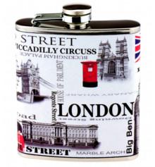 """Фляга """"LONDON - Big Ben"""" купить в интернет магазине подарков ПраздникШоп"""