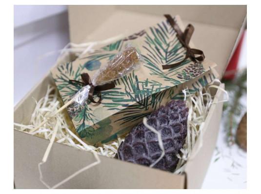 """Подарочный набор """"Хвойный"""" купить в интернет магазине подарков ПраздникШоп"""