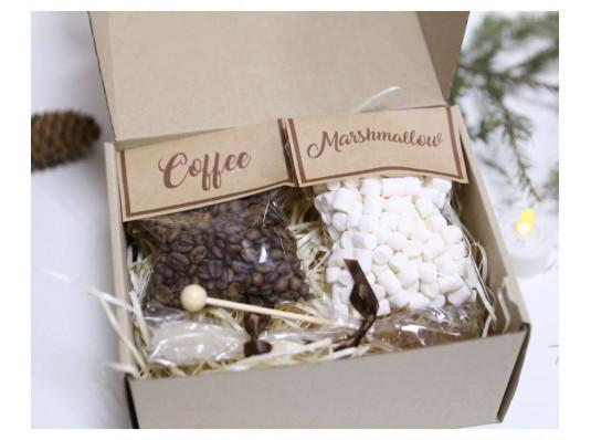 """Подарочный набор """"Кофейный привет"""" купить в интернет магазине подарков ПраздникШоп"""