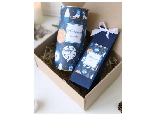 Подарочный набор «Синий» купить в интернет магазине подарков ПраздникШоп