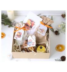 Подарочный набор «Оранжевый» купить в интернет магазине подарков ПраздникШоп