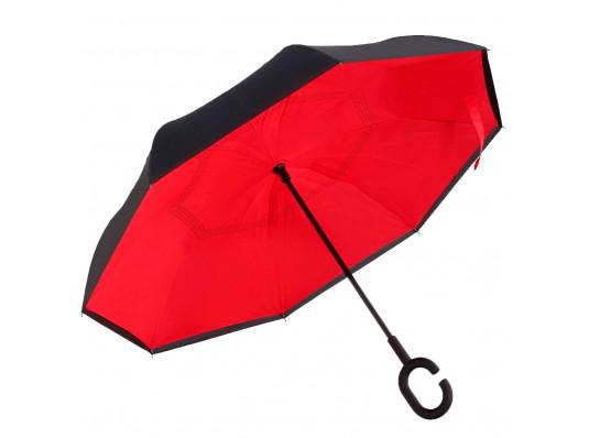 """Ветрозащитный зонт """"Up-Brella"""", красный купить в интернет магазине подарков ПраздникШоп"""