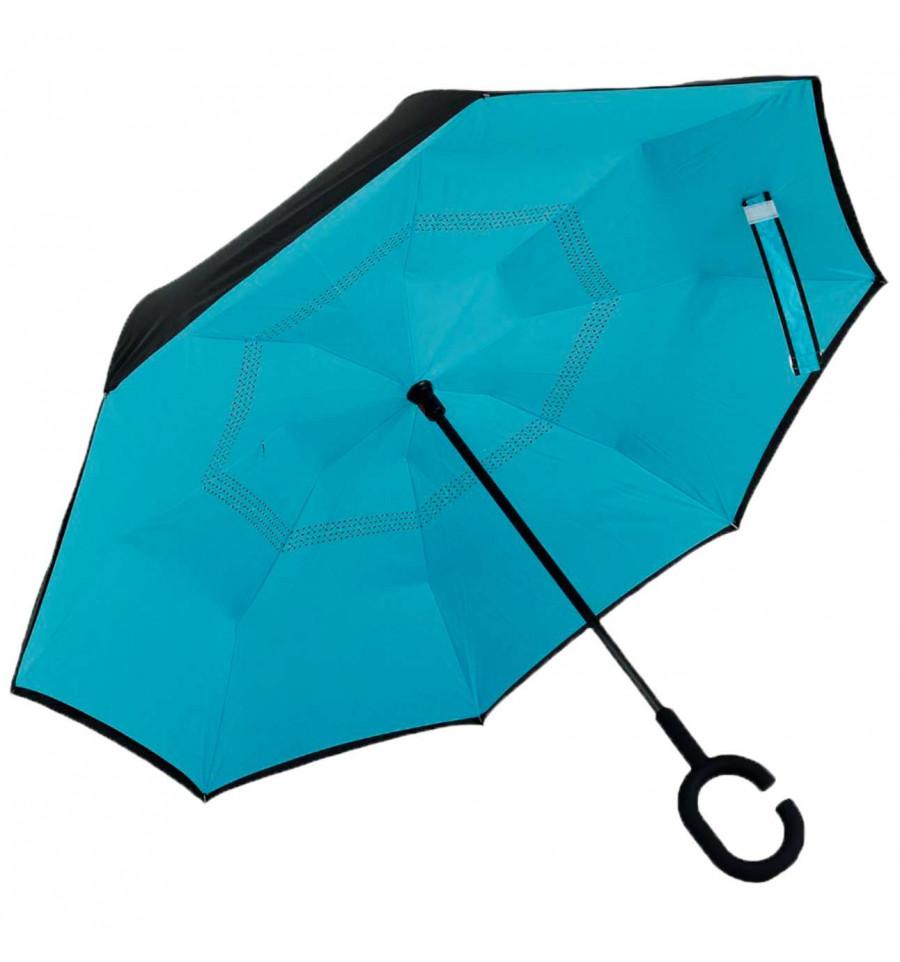 Ветрозащитный зонт UP-brella обратного сложения