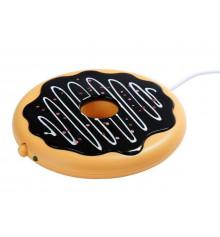 """USB подставка с подогревом для чашки """"Пончик"""" купить в интернет магазине подарков ПраздникШоп"""