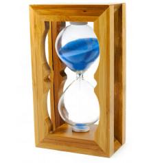 Часы песочные в бамбуковой подставке купить в интернет магазине подарков ПраздникШоп