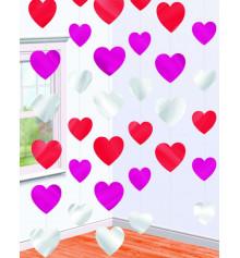 """Гирлянда """"Сердца"""", вертикальная купить в интернет магазине подарков ПраздникШоп"""
