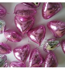 """Фольгированные сердца с гелием  18""""/45 см, 7 цветов купить в интернет магазине подарков ПраздникШоп"""