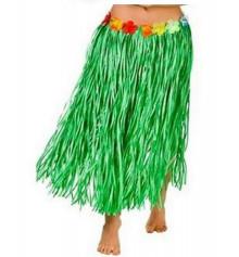 Гавайская юбка, зеленая (75 см.) купить в интернет магазине подарков ПраздникШоп