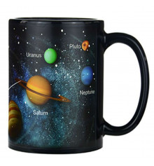 """Чашка-хамелеон """"Солнечная система"""" купить в интернет магазине подарков ПраздникШоп"""