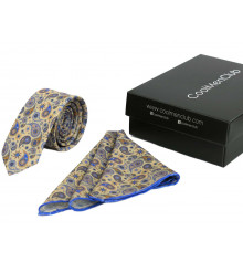 Подарочный набор для мужчин: галстук с платком, №1 купить в интернет магазине подарков ПраздникШоп