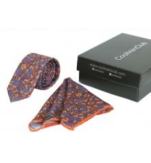 Подарочный набор для мужчин: галстук с платком, №2 купить в интернет магазине подарков ПраздникШоп