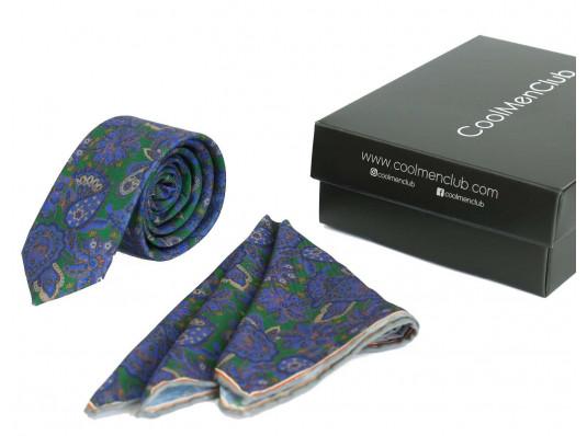 Подарочный набор для мужчин: галстук с платком, №5 купить в интернет магазине подарков ПраздникШоп