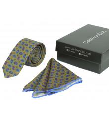 Подарочный набор для мужчин: галстук с платком, №6 купить в интернет магазине подарков ПраздникШоп