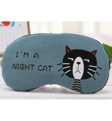 """Маска для сна с гелем """"Ночной кот"""", 4 цвета купить в интернет магазине подарков ПраздникШоп"""