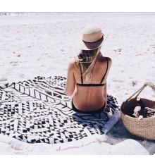 """Пляжный коврик """"Black Style"""" купить в интернет магазине подарков ПраздникШоп"""