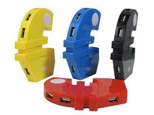 """""""Евро"""" USB-HAB разветвитель (4 порта) купить в интернет магазине подарков ПраздникШоп"""