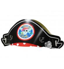 """Шляпа """"Пиратская"""", бумага купить в интернет магазине подарков ПраздникШоп"""