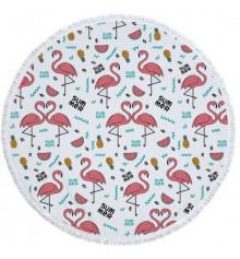 """Пляжный коврик """"Summer Flamingo"""" купить в интернет магазине подарков ПраздникШоп"""