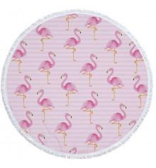 """Пляжный коврик """"Flamingo"""" купить в интернет магазине подарков ПраздникШоп"""