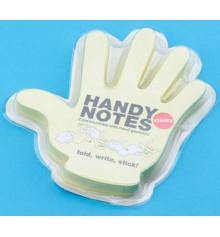 Рука - блокнот со стикерами купить в интернет магазине подарков ПраздникШоп