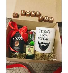 """Подарочный набор """"Бородатое настроение"""" купить в интернет магазине подарков ПраздникШоп"""