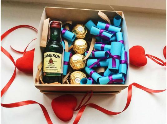 """Подарочный набор """"Для любимого"""" купить в интернет магазине подарков ПраздникШоп"""