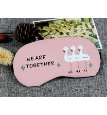 """Маска для сна с гелем """"We are together"""" купить в интернет магазине подарков ПраздникШоп"""