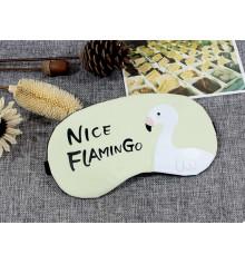 """Маска для сна с гелем """"Nice Flamingo"""" купить в интернет магазине подарков ПраздникШоп"""