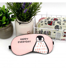 """Маска для сна с гелем """"Happy Everyday Пингвин"""" купить в интернет магазине подарков ПраздникШоп"""