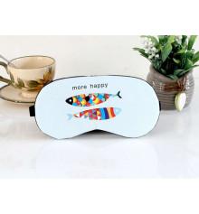 """Маска для сна с гелем """"More Happy"""", 2 цвета купить в интернет магазине подарков ПраздникШоп"""
