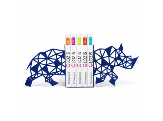 Упоры для книг Glozis Rhino купить в интернет магазине подарков ПраздникШоп