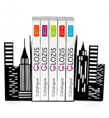 """Упоры для книг """"City"""" купить в интернет магазине подарков ПраздникШоп"""