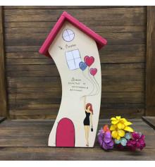 Домик счастья и исполнения желаний купить в интернет магазине подарков ПраздникШоп