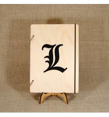 """Блокнот с деревянной обложкой """"Иероглиф"""" купить в интернет магазине подарков ПраздникШоп"""