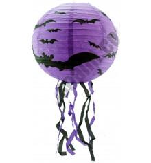 Декор подвесной с летучей мышью 30 см купить в интернет магазине подарков ПраздникШоп