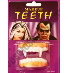 Зубы Вампира резиновые двойные купить в интернет магазине подарков ПраздникШоп