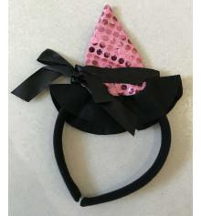 Шляпка Ведьмочки на обруче, 2 цвета купить в интернет магазине подарков ПраздникШоп